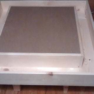 Square Lego Table