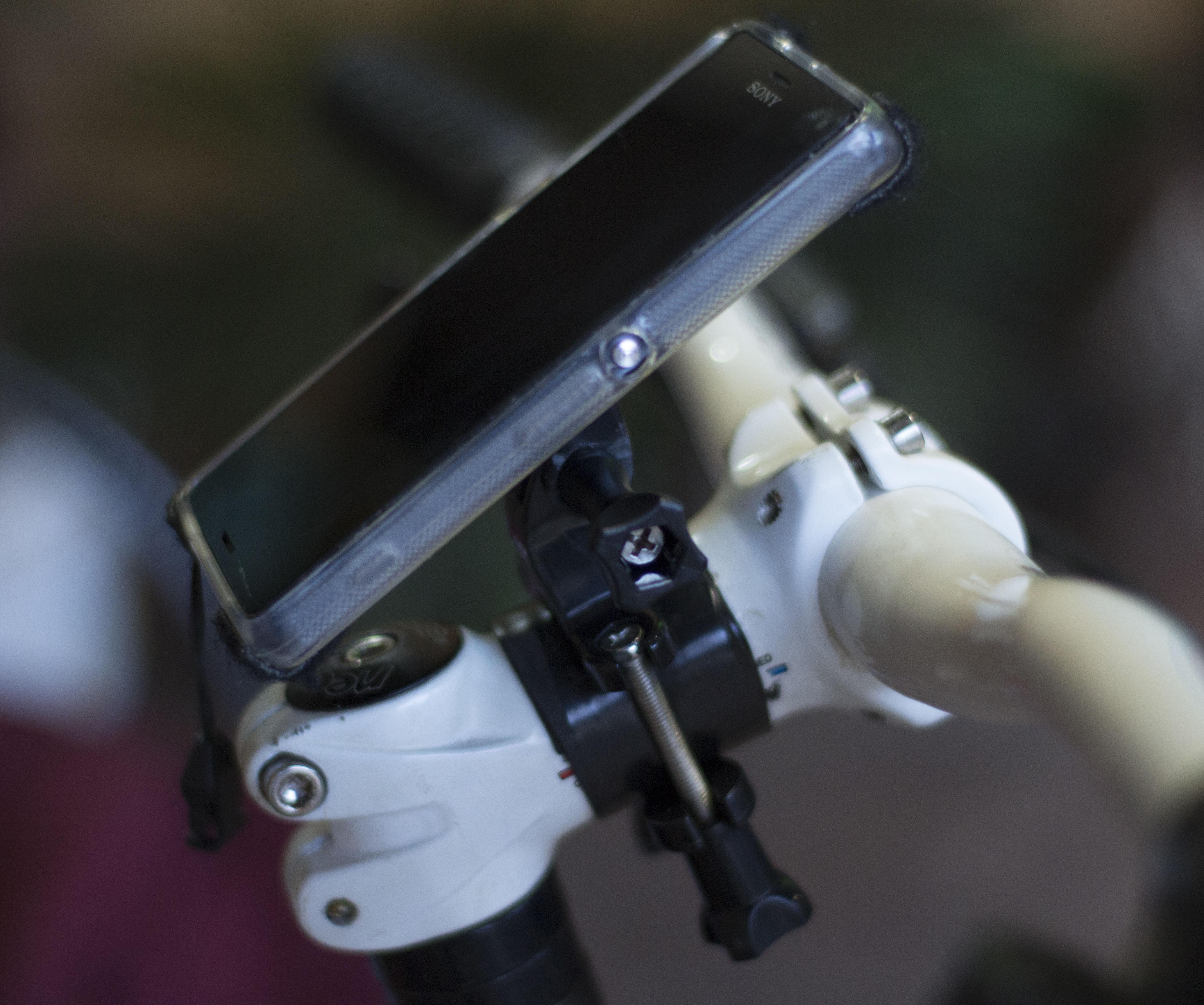 Bike Handlebar Smartphone Mount