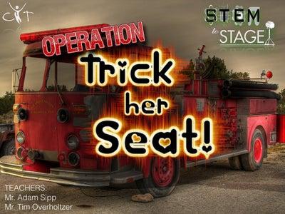 Power Chair Firetruck Costume (STEM)