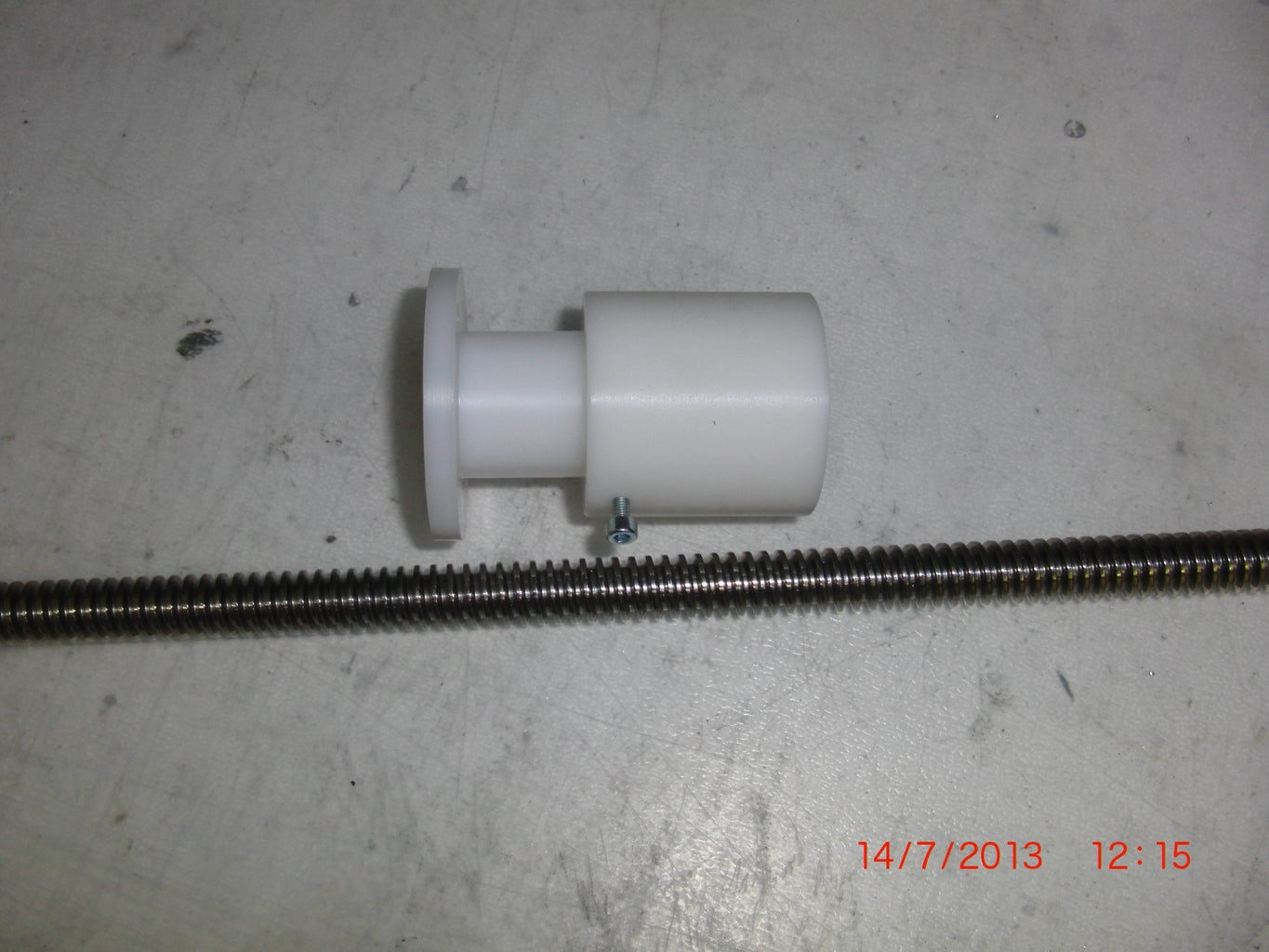 Z-axis: Spindle and Anti Back Lash Nut
