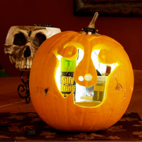 Pumpkin Silly String Shooter