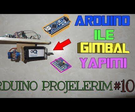 Arduino GIMBAL (CAMERA STABILIZATION)
