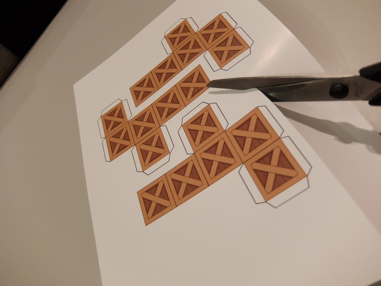 Cut a Box Template