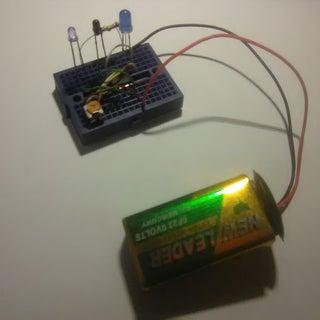 Infra-Red Proximity Sensor Using LM358