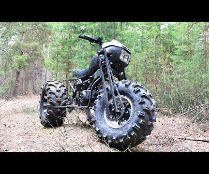 Homemade bike Vasugan 3WD