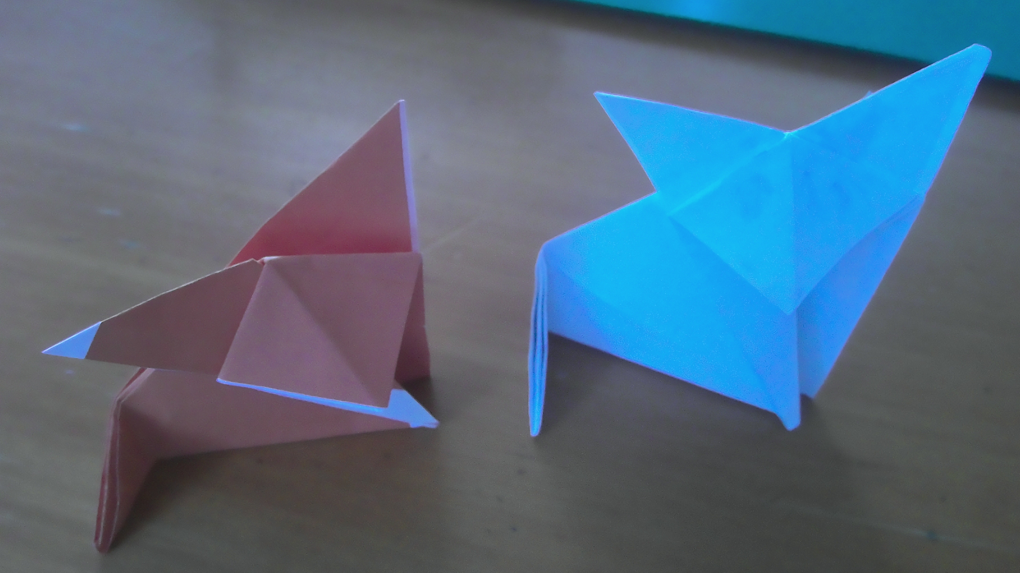 How to Make an Origami Fox