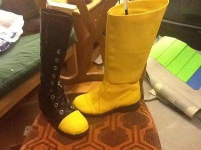 Boots + Kneepads