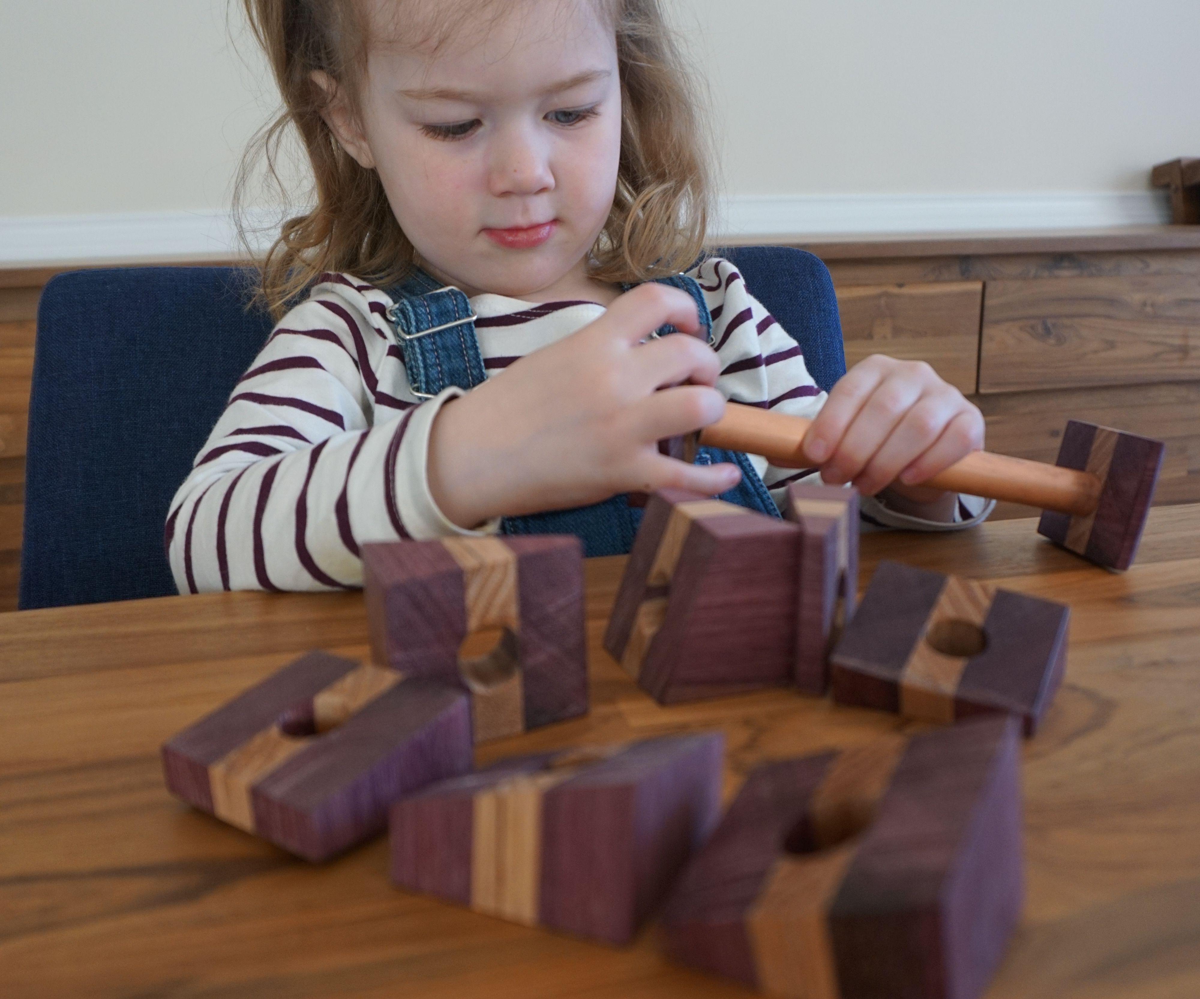 Wooden Brain Bender 3-D Puzzle
