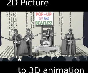 Making a 3D Animation From a  2D Picture