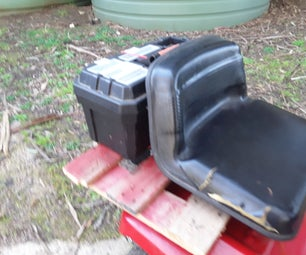 How to Make a Toolbox Rack for Your Mower