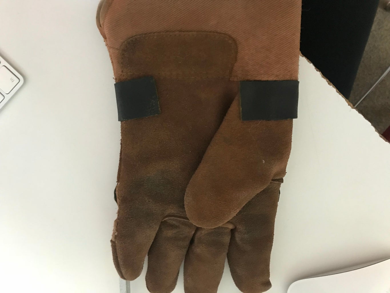 Spray Paint Your Glove Brown If It Is Not Brown to Begin With