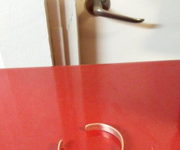 Super Simple Copper Bracelet