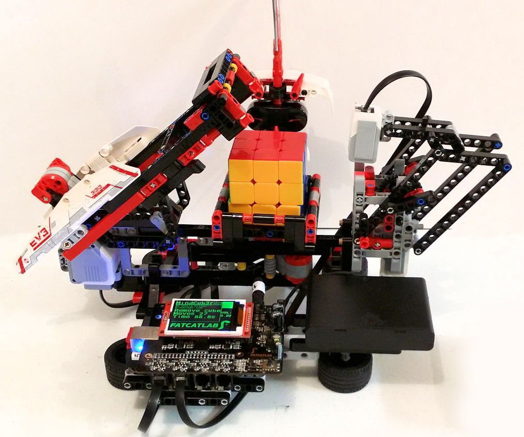 EVB - Rubic's Cube Solver