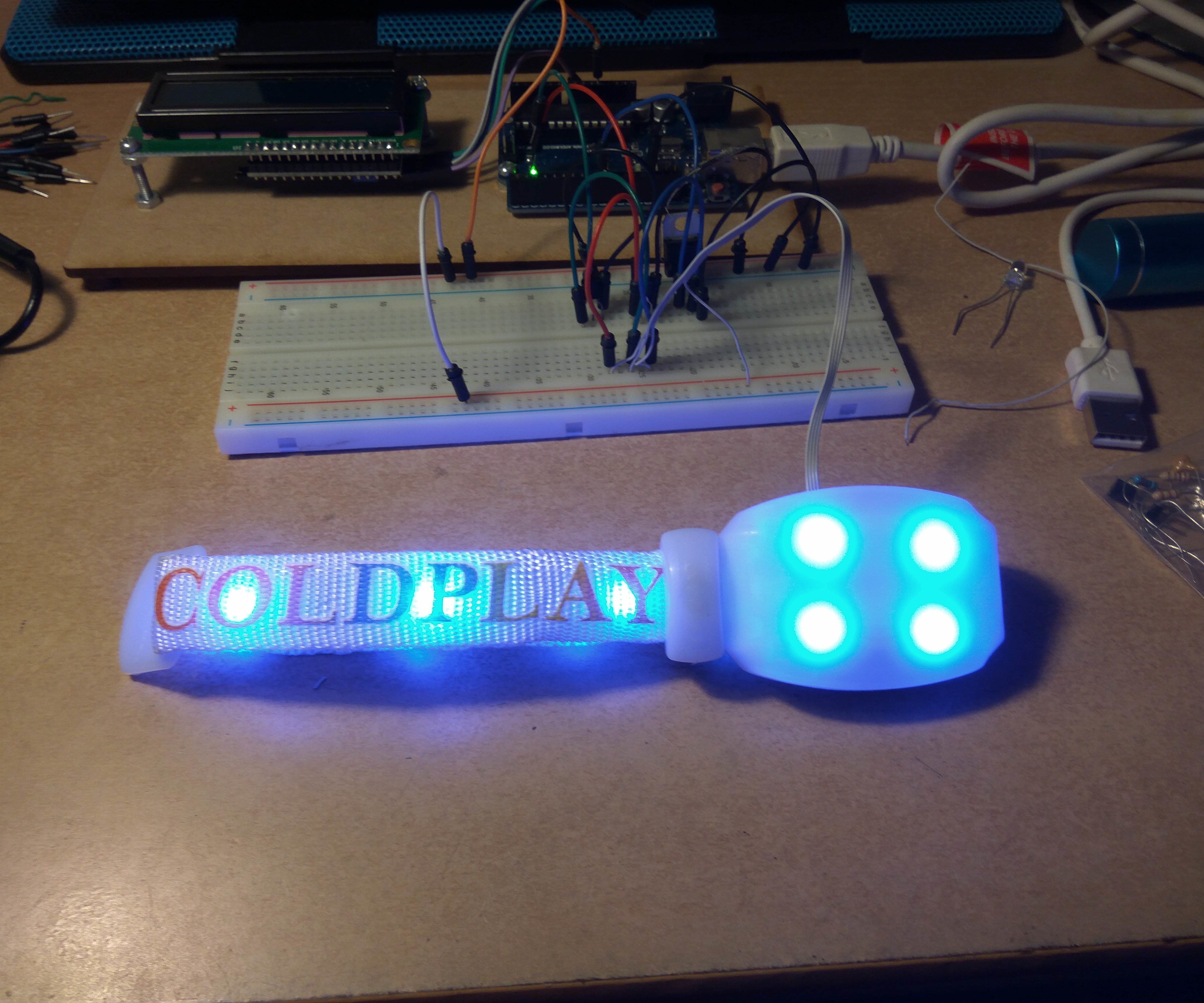 """""""Hacking"""" a Xyloband With Arduino"""