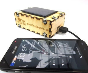 Solar USB Charger 2.0