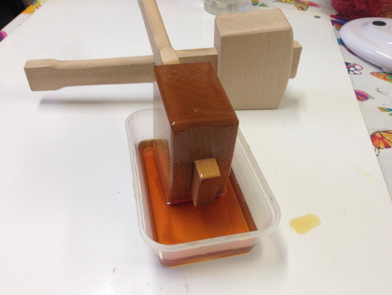 Soak in Linseed Oil