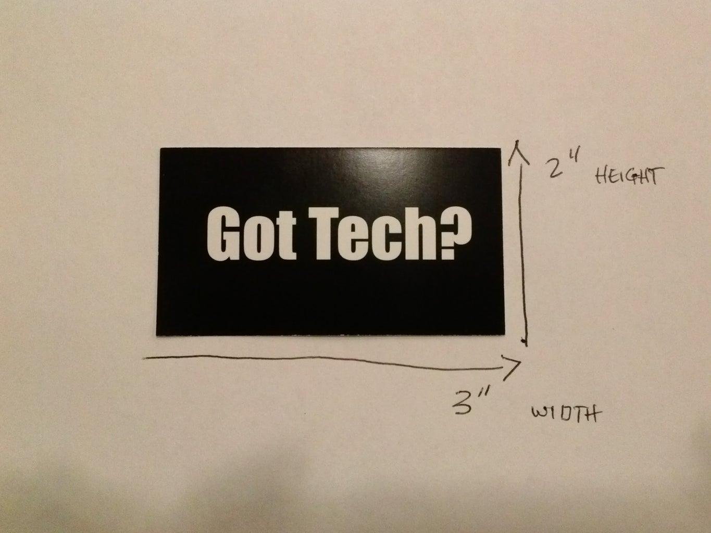 Step 1 - Gather Your Design Details