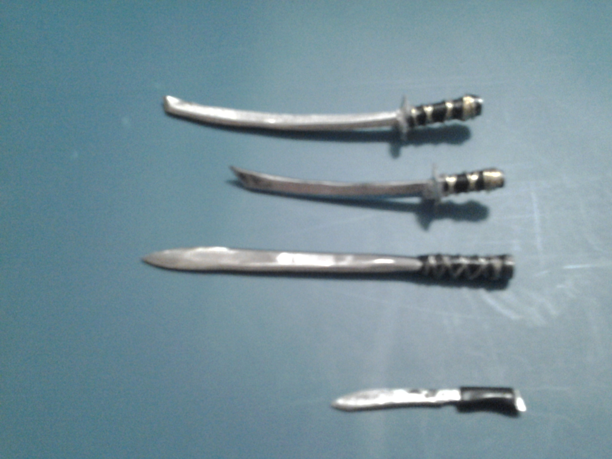 DIY Mini Swords And Knifes