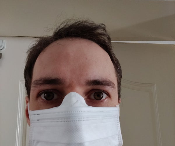 Long Nose Interface Piece for Face Mask
