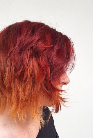 Fire Red Ombre Hair 8 Steps With Pictures Instructables