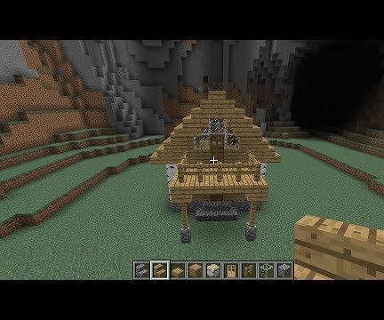 How to Build a 2-Story Cosy Cabin in Minecraft