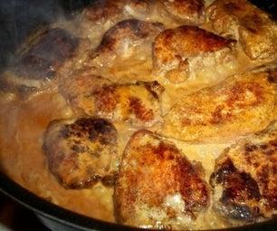 Tasty Butter Cream Chicken Cutlets