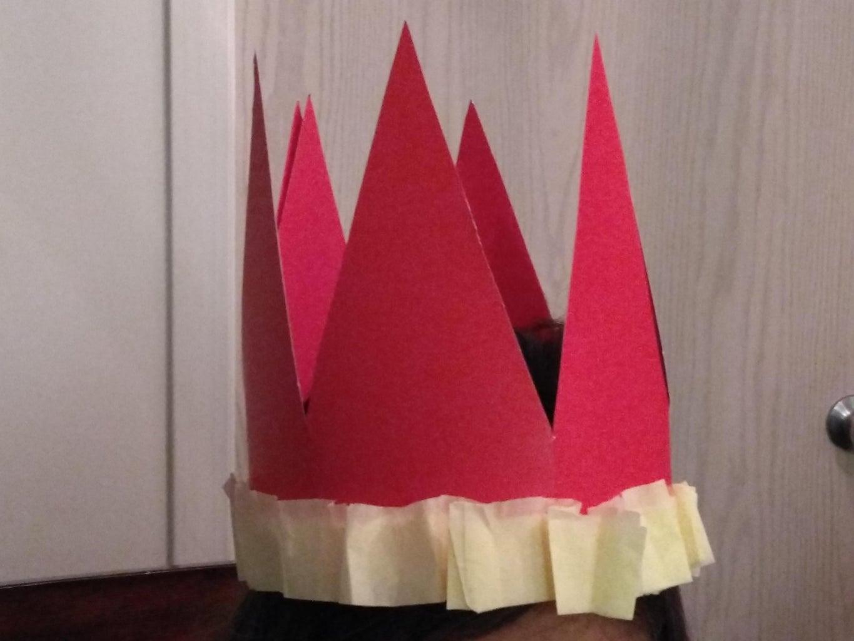 Cardstock Crown