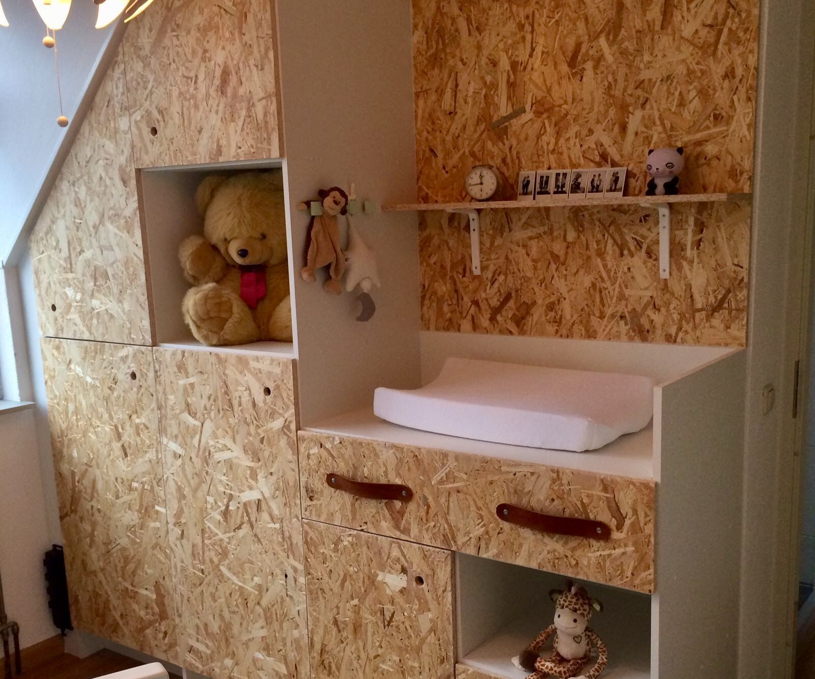 The idea: closet with changing table
