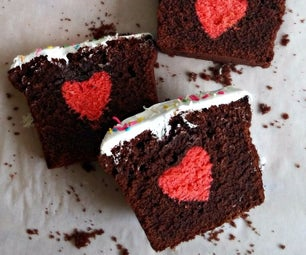 隐藏的心蛋糕/惊喜蛋糕