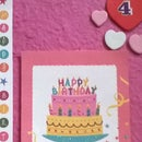 Bargain 4th birthday card