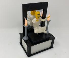 Levitation, a 3D Printed Automaton Illusion.