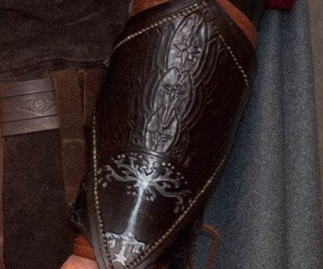 Aragorn's Leather Vambraces from Lord of the Rings