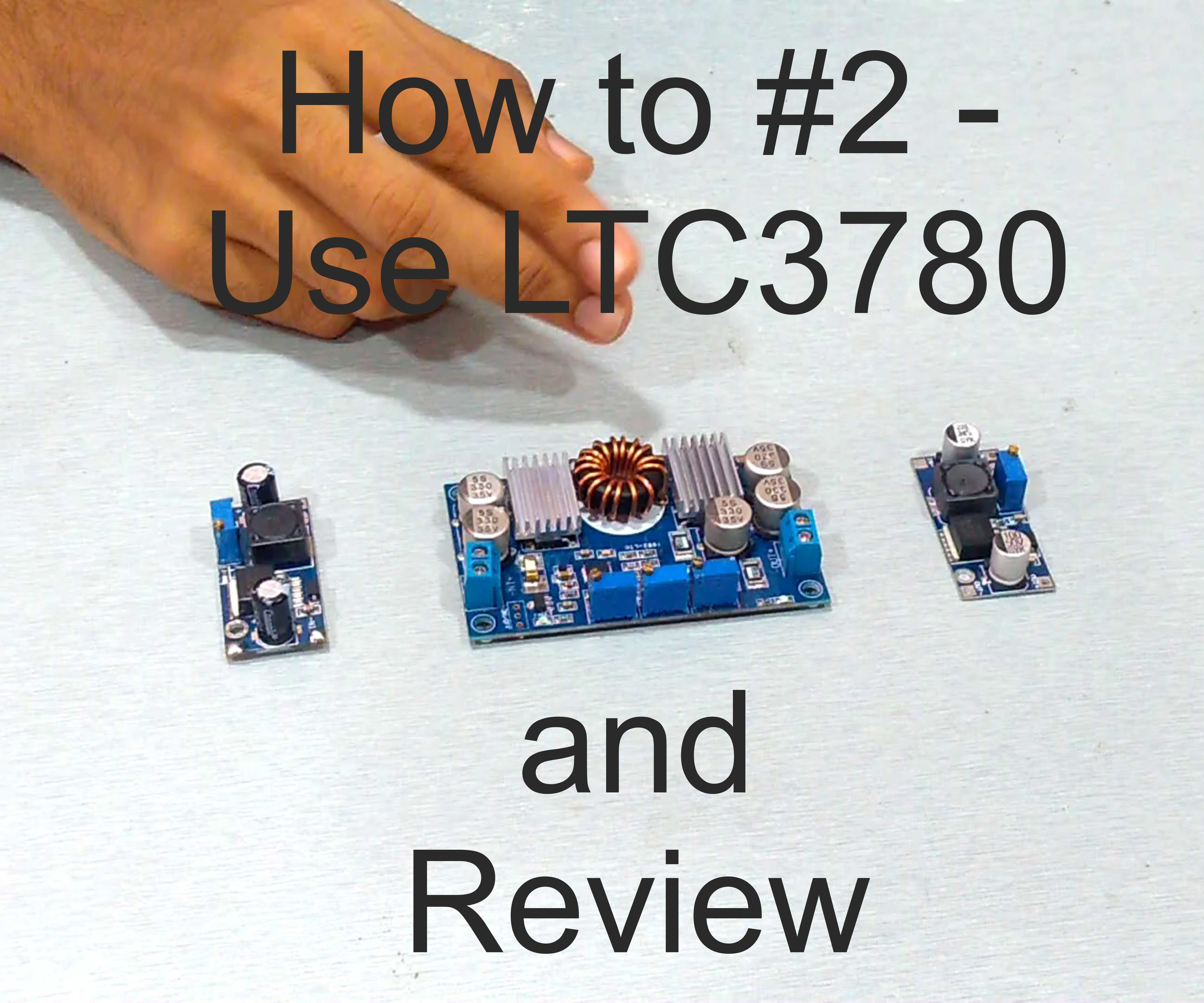 How to #2 - Use LTC3780
