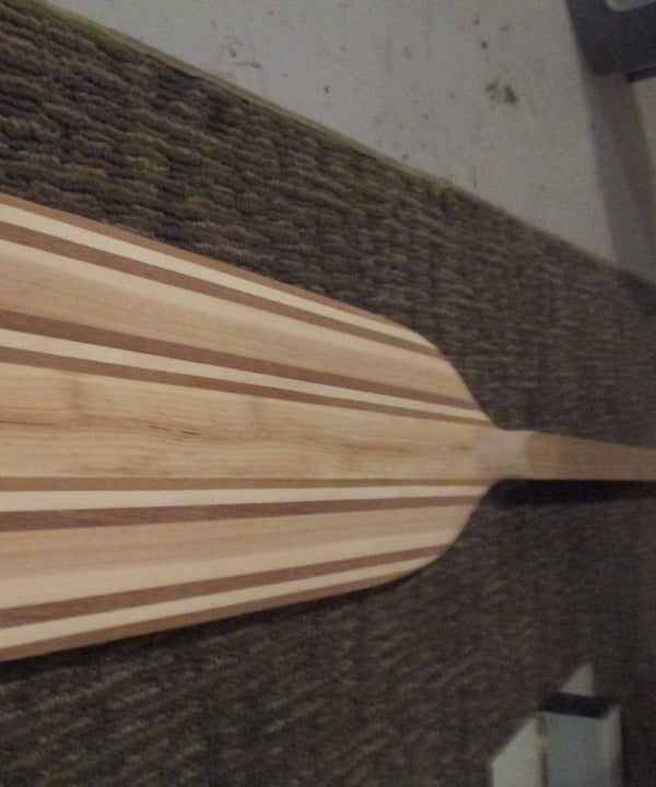 Make Your Own Canoe Paddle