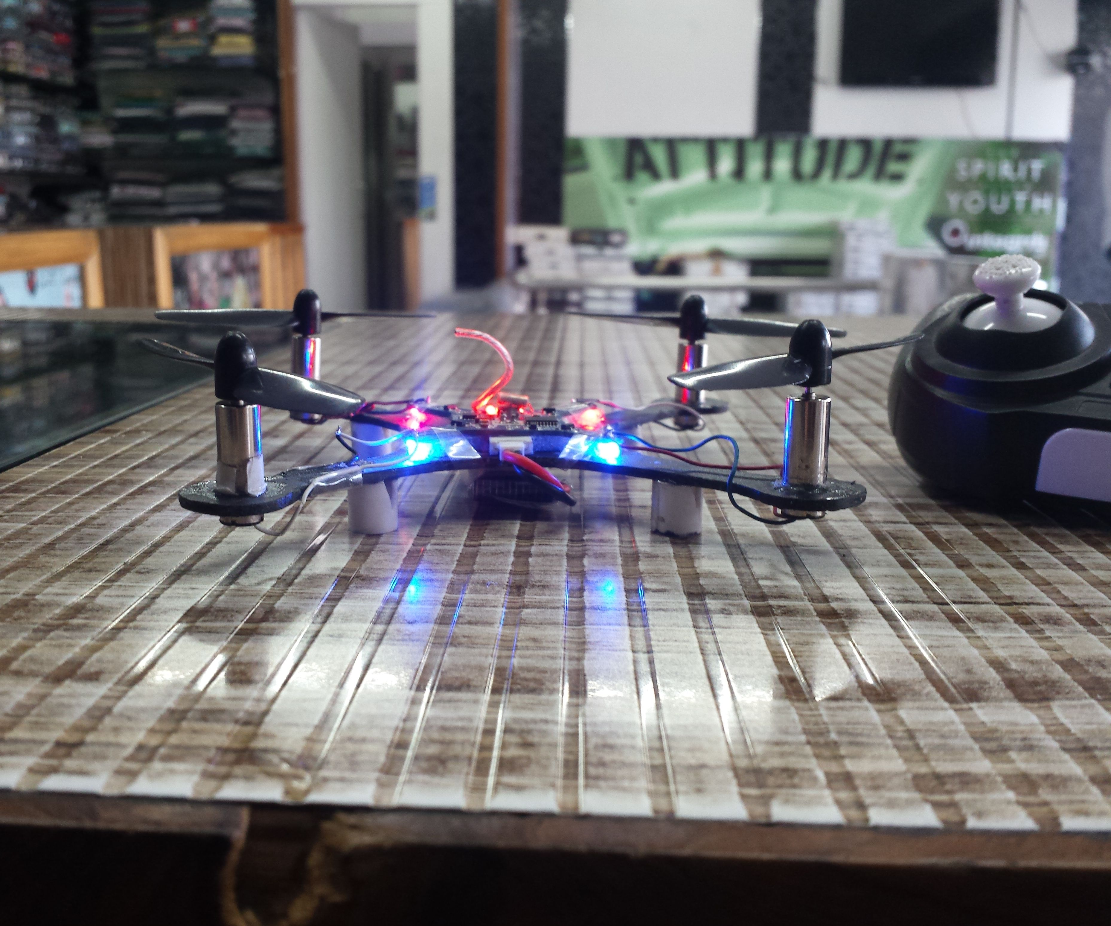HOW TO MAKE MINI DRONE