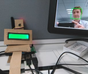 Who Is at the Coffee Machine? Facial Recognition Using Raspberry Pi, OpenCV and Sigfox