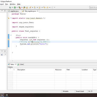Creating a JUnit Test Case in Eclipse