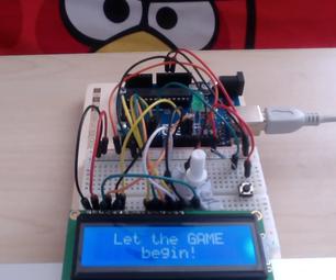 Arduino, LCD 16x2 & Button