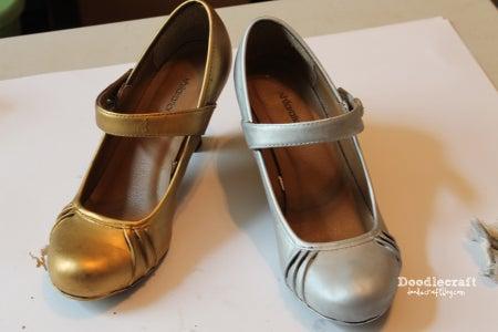Rub 'n Buff Those Shoes!