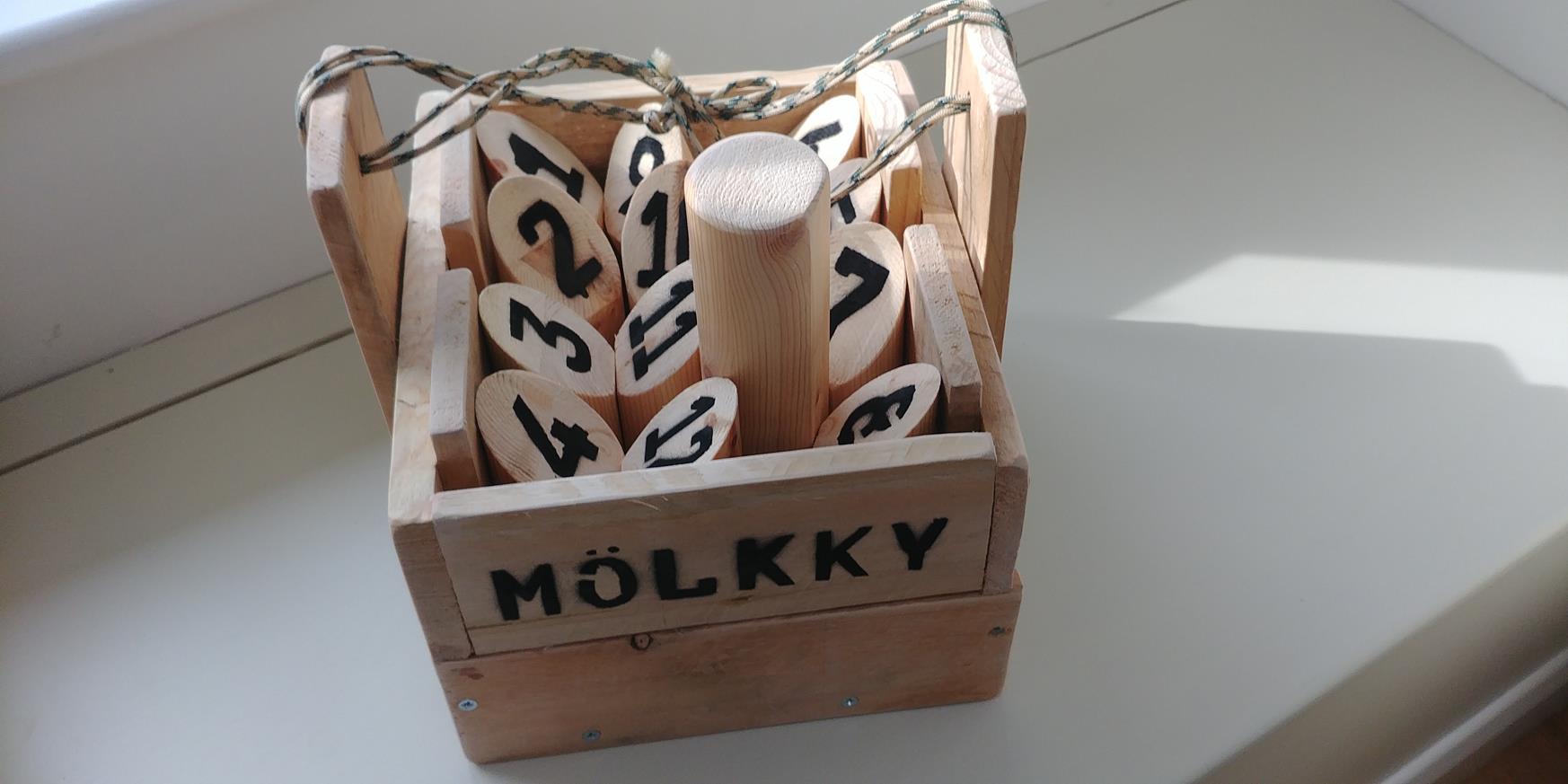 Home Made Finska (molkky) Set