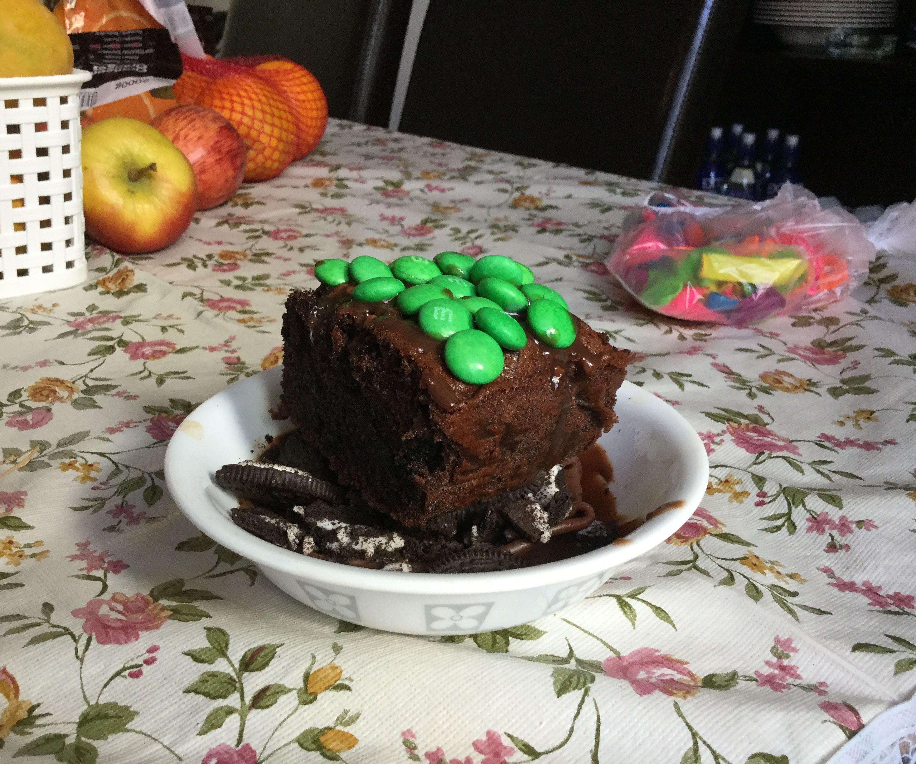 Minecraft Dirt Block Cake 9 Steps Instructables