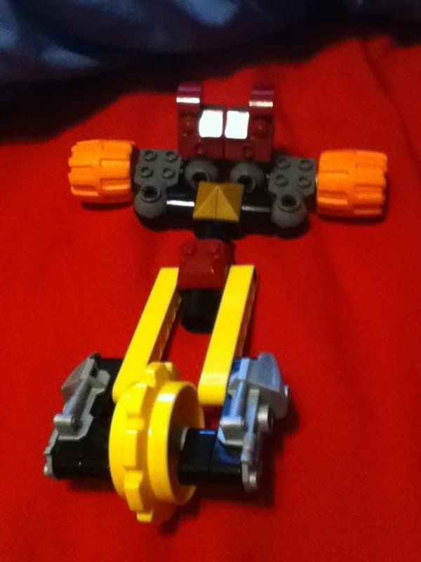 Lego Transformer Fyrydr
