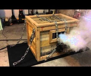 Monster-In-A-Box Halloween Prop (Part 2, the Guts)