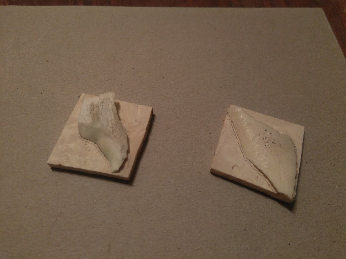 Making the Pieces, and Glueing Them Together