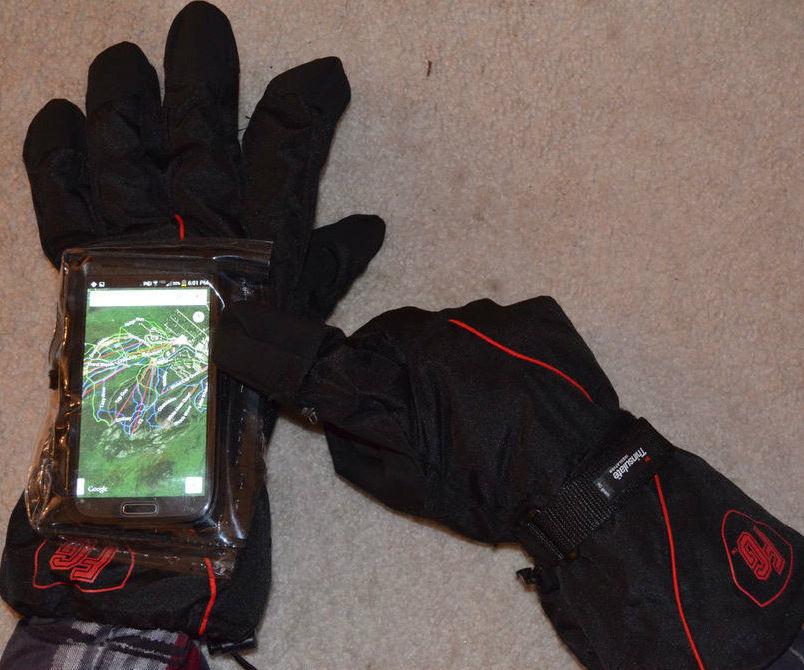Touchscreen Glove Phone Case
