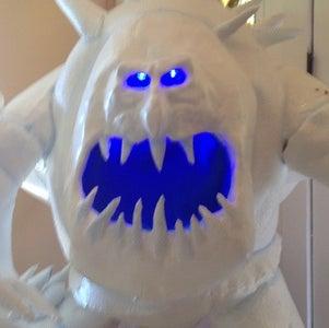Frozen Marshmallow Snowmonster Costume