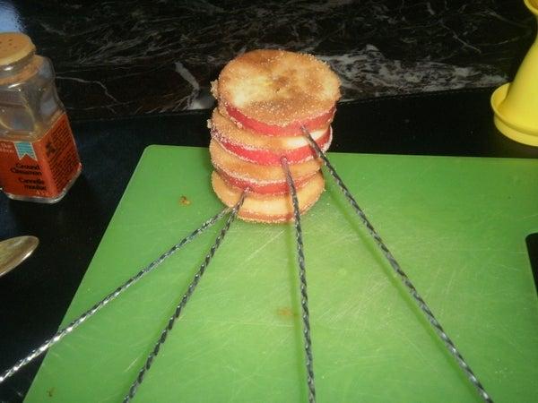 Cinnamon and Sugar Apples