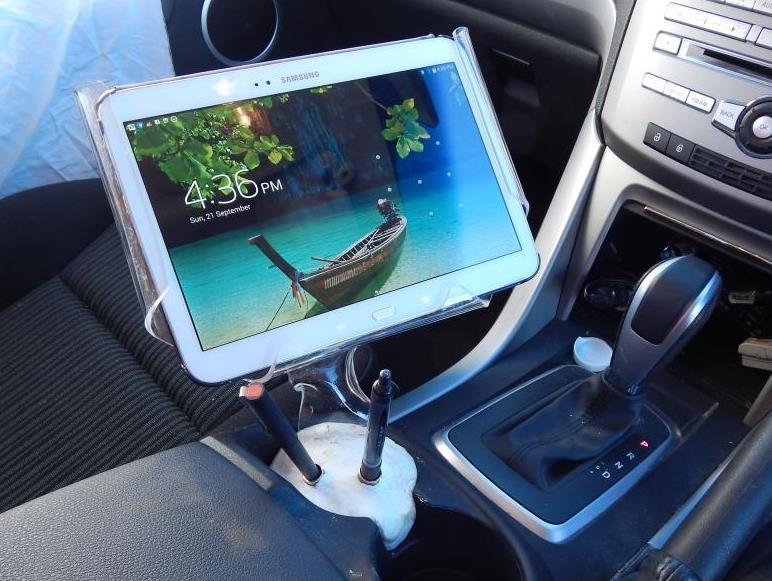How to Make a Tablet Mount for Your Car