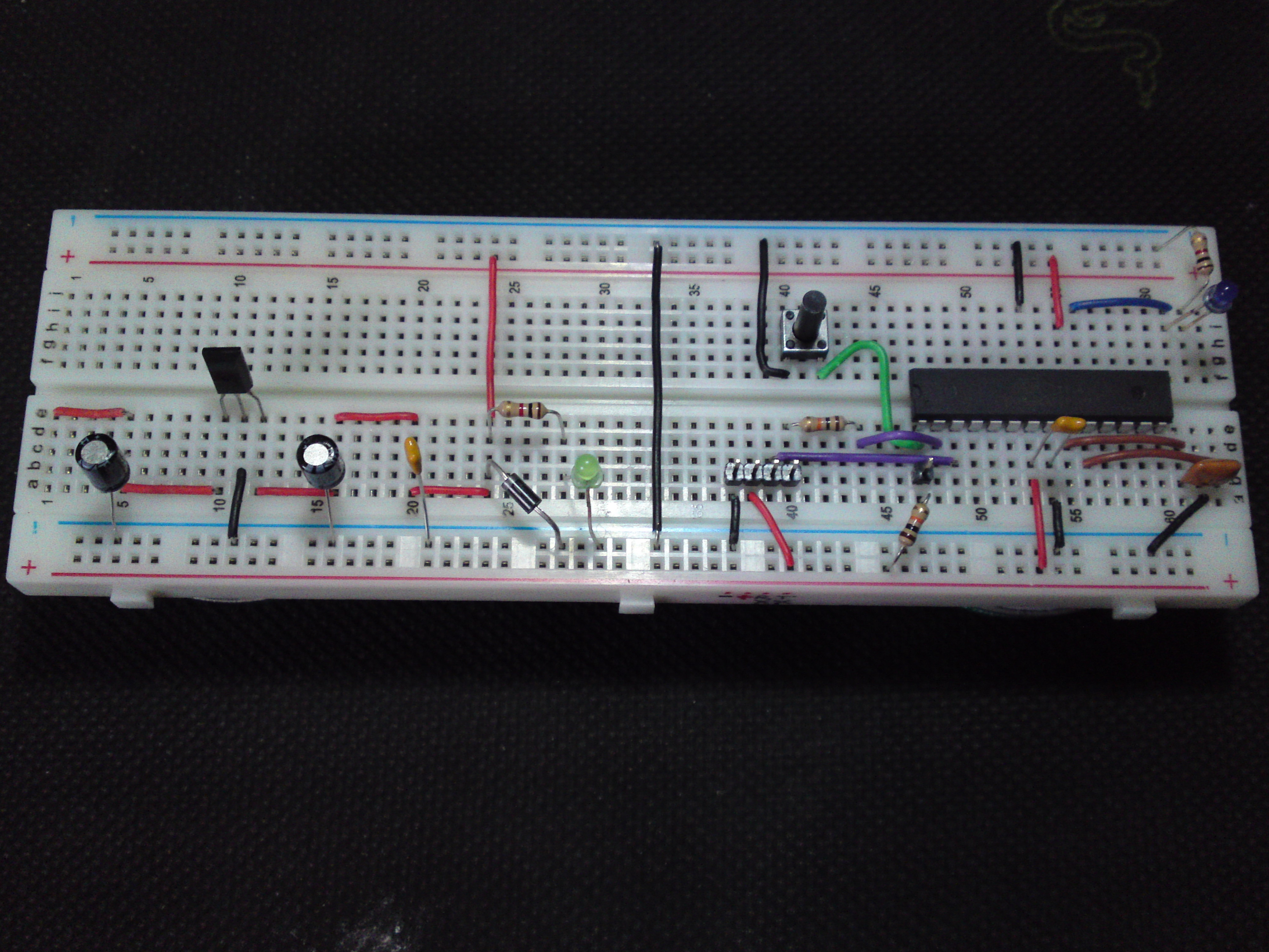 How To Make The Easiest Breadboard Arduino Uno...EVER ! - The Breduino ! (& How to Upload Sketches Straight to it !!) With Additional Hardware Options - UPDATED - JULY 2013
