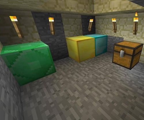 Minecraft Secret Room Under Lava